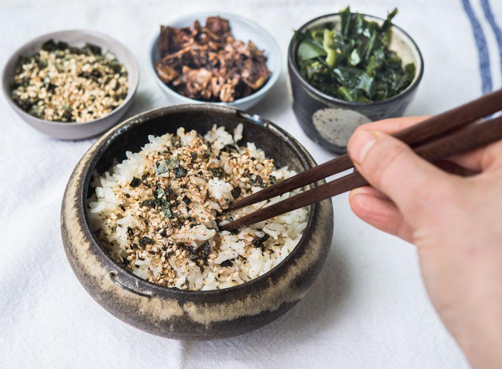 Seaweed Salad With Wakame Applewood Smoked Dulse And